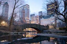 gapstow bridge, central park, new york city