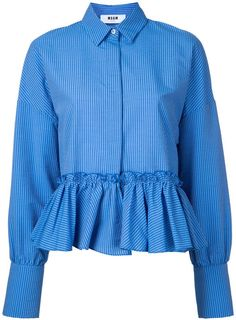 Designer Clothes, Shoes & Bags for Women Stylish Outfits, Cool Outfits, Fashion Outfits, Frill Shirt, Corporate Attire, Clothes 2019, Korea Fashion, Trendy Tops, Blouse Designs
