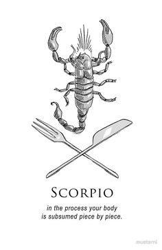 Scorpio - Shitty Horoscopes Book II: Anger by musterni