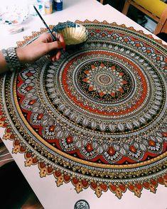 Les nouveaux Mandalas d'Or de Asmahan Rose Mosleh (3)