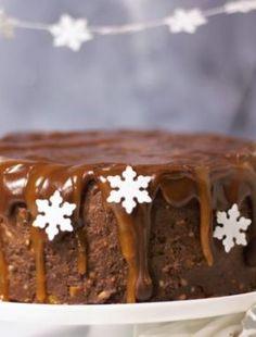 Gewürzkuchen backen mit Schokolade Zimt und Nelken. Ein Weihnachtskuchenrezept perfekt für die Winterzeit. Jetzt den Kuchen für Weihnachten nachbacken.