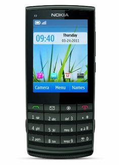 Black Friday Nokia X3-02 Unlocked Touch and Type GSM Phone with 5 MP Camera--U.S. Version with Warranty (Metal) from Nokia