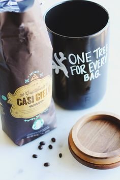As a part of our One Tree For Every Bag initiative, for every bag of coffee sold--including limited time coffees like Casi Cielo--we will provide one healthy coffee tree to a farm suffering from coffee rust.