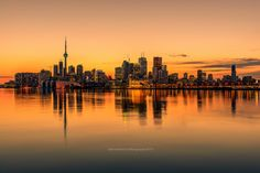 I reprocess one of my favorite shots of Toronto skyline. This photo was taken  from Polson Pier, Ontario.