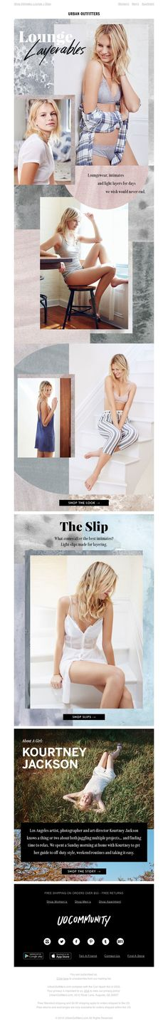 Urban Outfitters - Lounge around all day in soft, light layers...