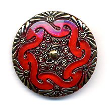 Lacy Glass Button
