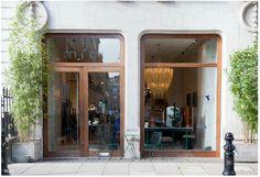 Design Food, Cafe Design, Entrance Design, Door Design, Tulum, Café Restaurant, Summer Deco, Brick And Mortar, Merchandising Displays