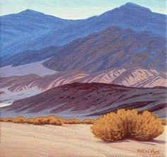 California 'Desert Blues' Original Landscape by ClearLightStudios, $90.00