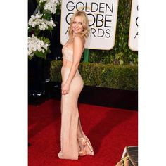 We are just LOVIN' Kate Hudsons red carpet look! #Glamzam #london #monday #goodmorning #goldenglobes #katehudson #styleicon #fashion #ootd #party #nightout #style #actress #golddress #midriffdress