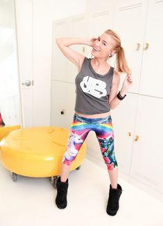 Герой месяца: фитнес-гуру Трейси Андерсон   Salatshop ♥ You