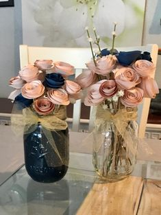 DIY blush and navy blue wedding decorations Gender Party, Baby Gender Reveal Party, Idee Baby Shower, Baby Shower Themes, Gender Reveal Party Decorations, Wedding Decorations, Party Planning, Wedding Planning, Diy Wedding