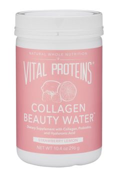 Collagen Beauty Water - Strawberry Lemon – Vital Proteins