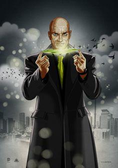 Superman & Lex Luthor by Dimitrosw Comic Villains, Superhero Villains, Dc Comics Characters, Clark Kent, Alex Ross, Smallville, Justice League, Hq Dc, Movies And Series