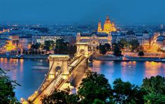 Stunning 3nt 4* Budapest escape only 145 GBP