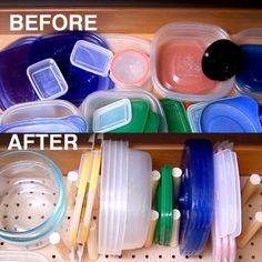 How To Organize Your Tupperware For Good | Here's A Tupperware Organizer For When Your Kitchen Gets Cluttered