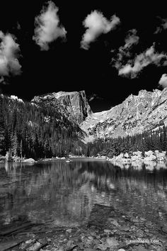 DREAM LAKE ROCKY MOUNTAIN NATIONAL PARK COLORADO BLACK AND WHITE VERTICAL Framing Photography, White Photography, Landscape Photography, Pictures Images, Print Pictures, Rocky Mountains Colorado, Rocky Mountain National Park, National Parks, Fine Art