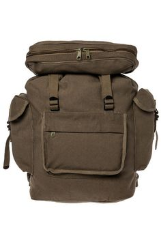 Rothco Backpack European Style Rucksack Olive Drab Green - Karmaloop.com