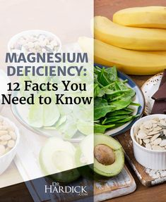 It's hard to find a modern disease that's not associated with low magnesium. In fact, when it comes to nutritional deficiencies, there may be more people sick today from low magnesium than from any other nutritional deficiency. Check out my newest article featuring 12 facts -- but more importantly -- at least 12 solutions!