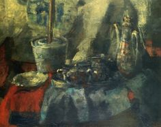James Ensor - Small Blue Chinoiseries (1880)