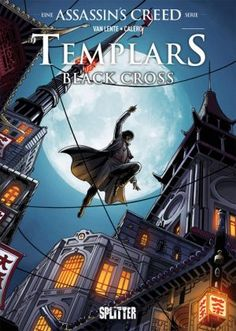 Assassins Creed - Templars: Black Cross (Band 1) - 3.5/5 Sterne - DeepGround Magazine