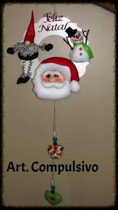 Guirlanda Papai Noel e Guinomo
