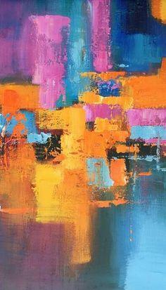 Abstract Painting, Contemporary Painting, Acrylic Art, Large Wall Art, Original Artwork #abstractart #artpainting #wallart