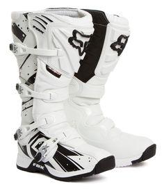 Fox Motocross-Stiefel Comp 5 Undertow - White 2015   Maciag Offroad