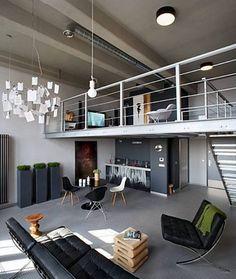 Wystrój wnętrz. Loft modelowy, lofty de Girarda w Żyrardowie. - zdjęcie