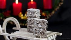 Schoko-Kokos-Würfel - Gudrun von Mödling Krispie Treats, Rice Krispies, Gudrun, Low Carb, Baking, Desserts, Recipes, Food, Muffins
