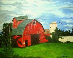 American barn - Media - Artist Daily