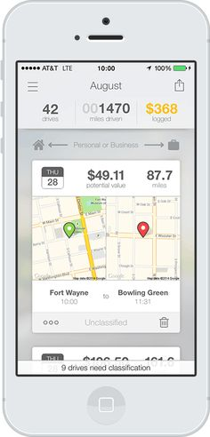 best mileage tracker app for iphone 2015