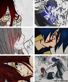 Browse FAIRY TAIL Jerza ~ Jellal Fernadez ~ collected by wowor and make your own Anime album. Fairy Tail Family, Fairy Tail Love, Fairy Tail Couples, Fairy Tail Ships, Fairy Tail Anime, Nalu, Gruvia, Erza Y Jellal, Tokyo Ghoul