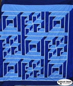 Labrynth Quilt Pattern, Quilt Patterns Free, Free Pattern, Labyrinth Walk, Cool Optical Illusions, Quilt Making, Quilting Designs, Projects To Try, Crafts