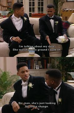Fresh Prince of Bel Air, Will and Carlton
