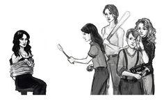 Carmilla and the Vigilantbians! By emmahay.tumblr.com