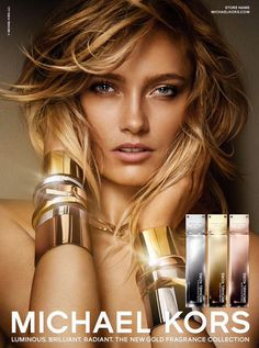 Its all abut the metals! Karmen Pedaru is a Golden Beauty in Michael Kors Fragrance Ad by Mario Testino Mario Testino, Michael Kors Gold, Karmen Pedaru, Perfume Ad, Chanel Perfume, Advertising Campaign, Beauty Photography, Product Photography, Supermodels