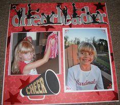 Amber Cheerleading, Fall 2010 - Scrapbook.com