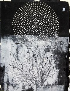 Jinwon Chang, Untitled #022, acrylic on paper, 2006