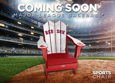 MLB coing soon to My Custom Sports Chair.  redsox  mlb  baseball Nhl dd4dd0fff