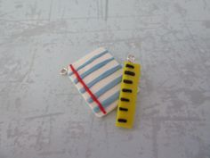 Cute Paper And Ruler Charms Clay Charms, Ruler, Charmed