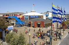 Pier 39, San Francisco, CA - shops, restaurants, street performers, the ubiquitous sea lions, and much, much more...