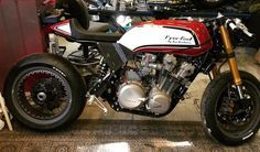 Honda CB 1100 Cafe Racer by Tux Customs #motorcycles #caferacer #motos |