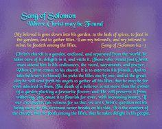 de86e826ead1 Song of Solomon - Where Christ may be Found