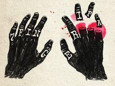 Dribbble 7 Finger IPA by dan gneiding