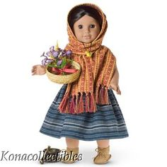 American Girl Josefina Herb Gathering Outfit New!