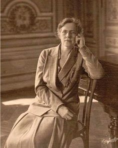 Nadia Boulanger 1887-1979, French composer, teacher of theory and harmony, and writer.  Influential upon 20th century composers including Aaron Copland.