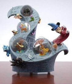 Disney Limited Edition Fantasia Musical Snowglobe