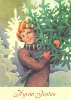 Christmas Mood, Christmas Themes, Merry Christmas, Vintage Christmas Cards, Vintage Cards, Naive, Winter Art, Illustrations And Posters, Old Toys
