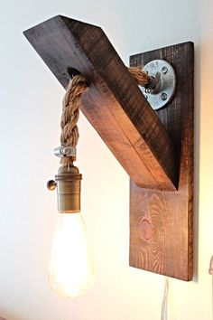 Industrial sconce  on Etsy, $110.00