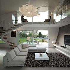Organic Shaped House